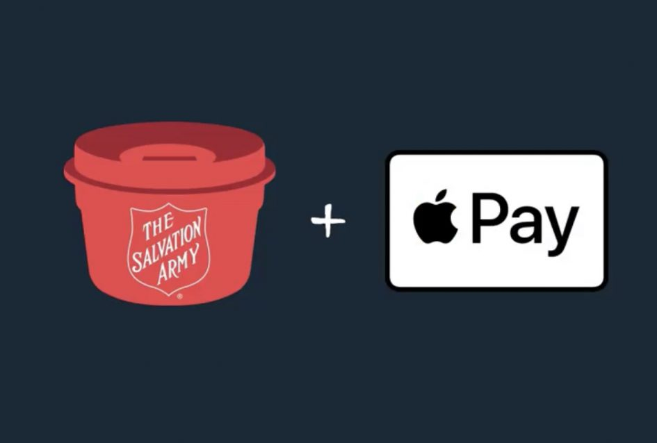 Salvation Army Kansas City >> Select Salvation Army Kettles Now Accept Apple Pay