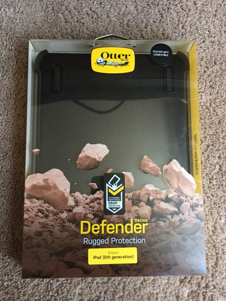 huge selection of 2752a 383f6 Review: OtterBox Defender Case for the iPad 5th and 6th Generation