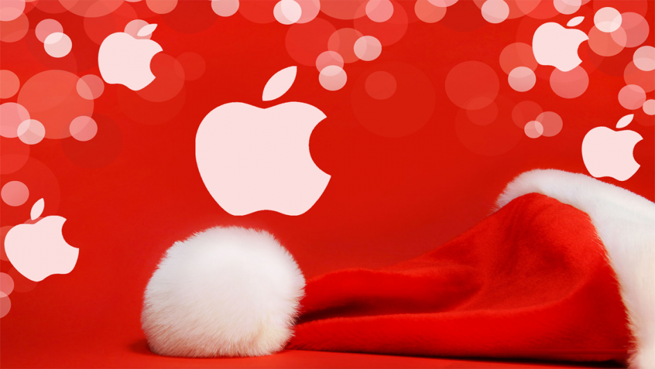 Image result for apple merry christmas""
